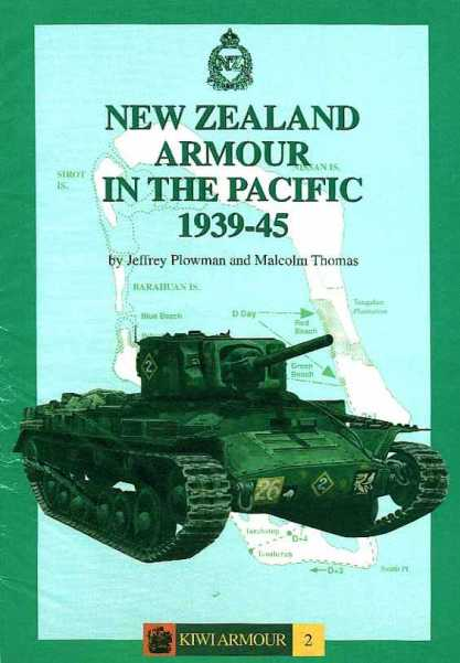 New Zealand Armour In the Pacific 1939-45