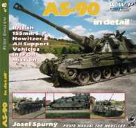 AS-90 Braveheart in Detail: British 155mm S.P. Howitzer & All Support Vehicles in IFOR Mission