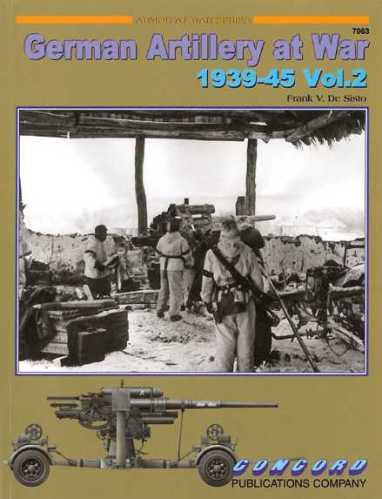 German Artillery at War 1939-45 Vol.2