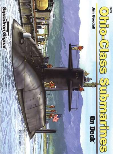 Ohio-Class Submarines On Deck