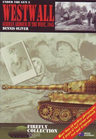 Westwall: German Armour in the West, 1945