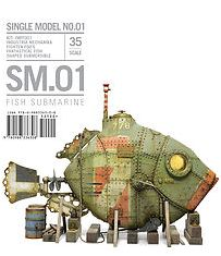 SM.01 Fish Submarine: 1/35 FichtenFoo's Fantastical Fish-shaped Submersible