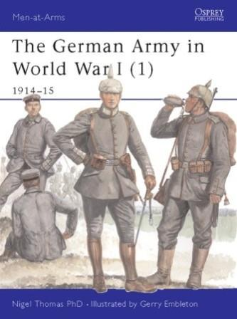 The German Army in World War I (1), 1914-15