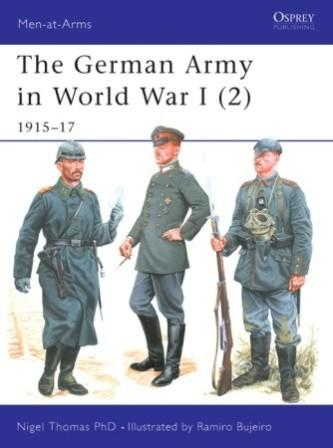 The German Army in World War I (2), 1915-17