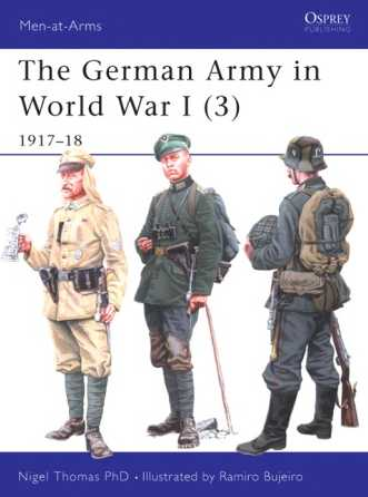 The German Army in World War I (3), 1917-18