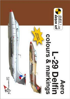 Aero L-29 Delfin colours and Markings 1/72 Scale Decals