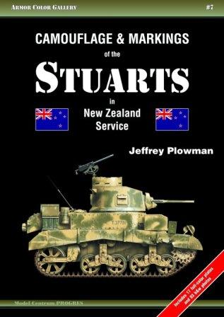Camouflage & Markings of the Stuarts in New Zealand Service