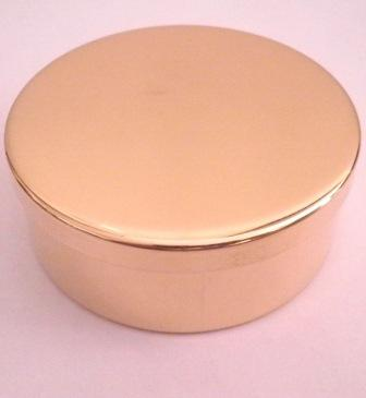 Snuff Box in Brass by Tedd Cash
