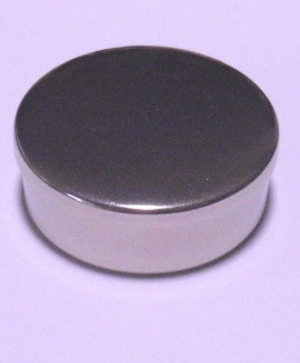 Cap or Pill Box in German Silver by Tedd Cash