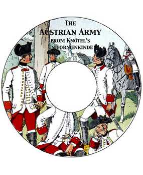 The Austrian Army 1700-1869 From Knötel's UNIFORMENKUNDE