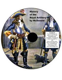 McDonald's History of the Royal Artillery 1630-1897