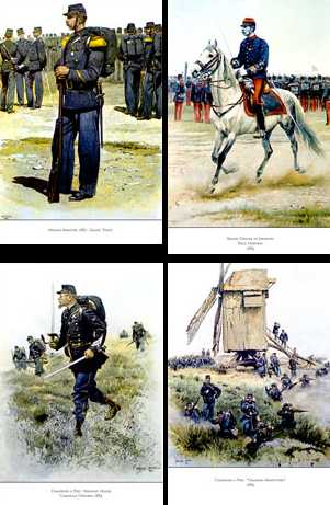 The French Army of Edouard Detaille, Official Painter of the French Army
