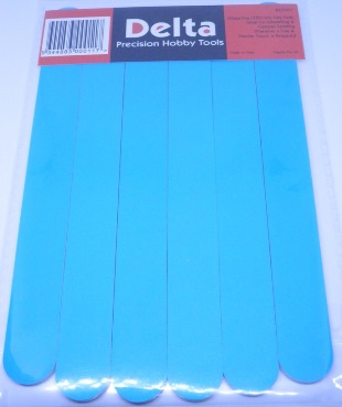 Flex Pads for Modelling Sanding, Buffing, Polishing - 6 pack - 320 Grit - Extra Fine