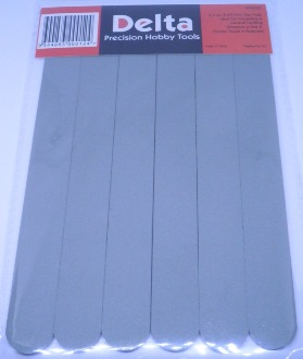 Flex Pads for Modelling Sanding, Buffing, Polishing - 6 pack - 240 Grit - Fine