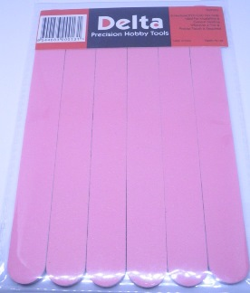 Flex Pads for Modelling Sanding, Buffing, Polishing - 6 pack - 220 Grit - Medium