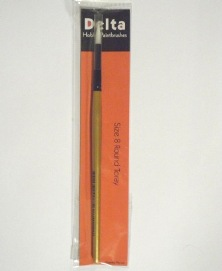 Toray Round Hobby Paint Brush – size 8