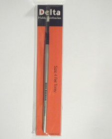 Toray Flat Hobby Paint Brush – size 4