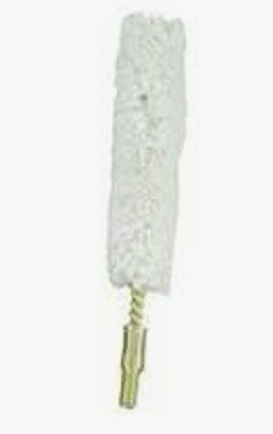 100% Cotton Rifle & Pistol Bore Mop - .40-.45 cal - 8/32 thread