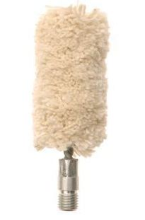 100% Cotton Shotgun Bore Mop - 16, 12, 10 Ga - 5/16-27 thread