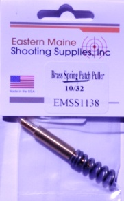 Brass Spring Patch Puller - 10/32 thread