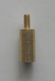 Brass Adaptor 8/32 male to 5/16-27 female