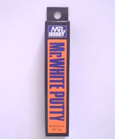 Mr White Putty - Ultra Fine Modelling putty - 25g tube