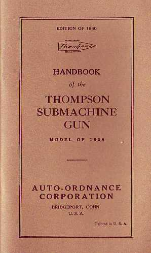 Handbook of the Thompson Submachine Gun