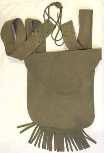 Muzzleloader Leather Possible Bag
