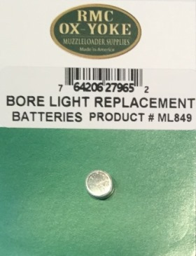Muzzleloader Gun Bore Light - Replacement Battery