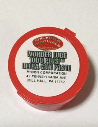 Wonder Lube 1000 Plus Ultra Gun Paste, Barrel Seasoning Conditioner