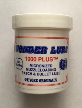 Wonder Lube 1000 Plus Muzzleloading Patch & Bullet Lube - 4oz jar