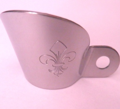 Black Powder Musket Flashguard - Iron - French Design