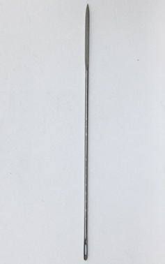 "Heavy Duty 6"" long Leather Needle - by Tedd Cash"