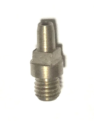 Stainless Steel Musket Rifle Nipple 1/4-28 thread with Square Head #11 cap