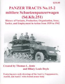 mittlere Schuetzenpanzerwagen (Sd.kfz.251) History of Variants, Production, Organisation, Issue, Tactics, and Employment in Action from 1939 to 1942