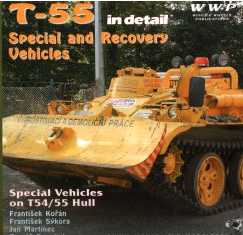 T-55 Special Vehicles in Detail: MT-55, T-55-60M, T55C, BS-55, BT-5S, BTS-2, VT-55, TS-4ARV, ZS-55 and More Variants on T-55 Hull