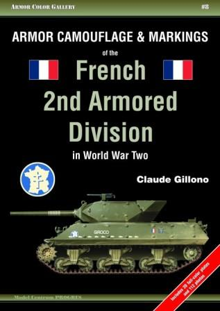 Armor Camouflage & Markings of the French 2nd Armored Division