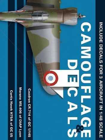 Camouflage & Decals: Caudron CR.714 - Morane Ms.406 - Curtiss Hawk H75A