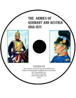 Imperial German and Austrian Troops of the Austro Prussian War and the Franco-Prussian War