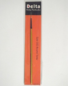 Toray Round Hobby Paint Brush – size 000