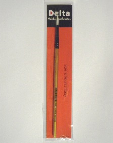Toray Round Hobby Paint Brush – size 6