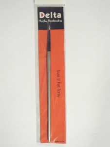 Toray Flat Hobby Paint Brush – size 2