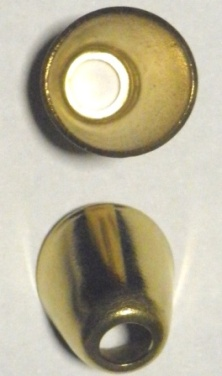 "Flash Cup for Percussion Musket/Rifle/Shotgun - Brass U.S. (1/4"" hole)"