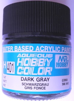 Mr Hobby - Aqueous Acrylic WWII Dark Grey - 10ml bottle