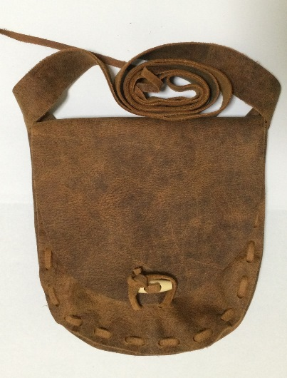Leather Hand Laced Possible Bag