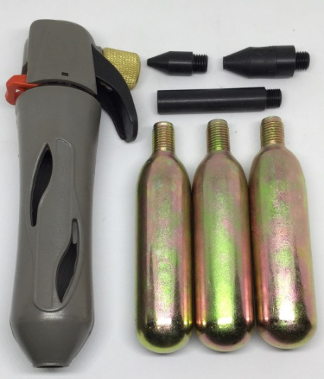 CO2 Blowoff, Inflator, Discharger kit