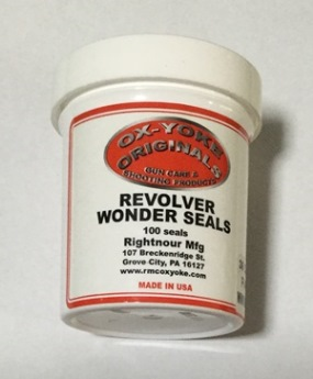 Cap & Ball Revolver Cylinder Wonder Seals for 44 cal - 100 pack