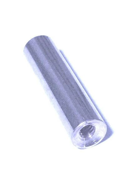 "Ramrod Tip in Steel - 8/32 thread - 7/16"" diameter rod"