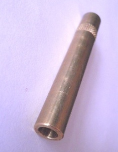 Musket Ramrod Adaptor - fits Italian Enfield ramrod - converts to 10/32 thread